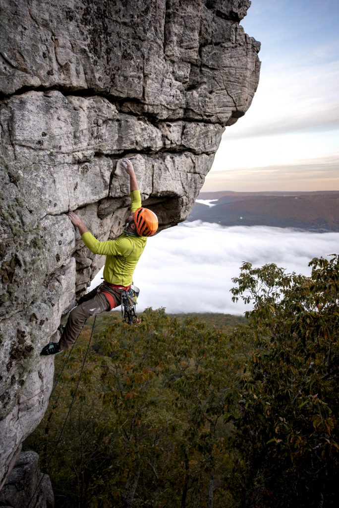 Laban Swafford On The Prow at Sunset Rock
